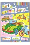 Autók és motorok (Színezz, betűzz, játssz)