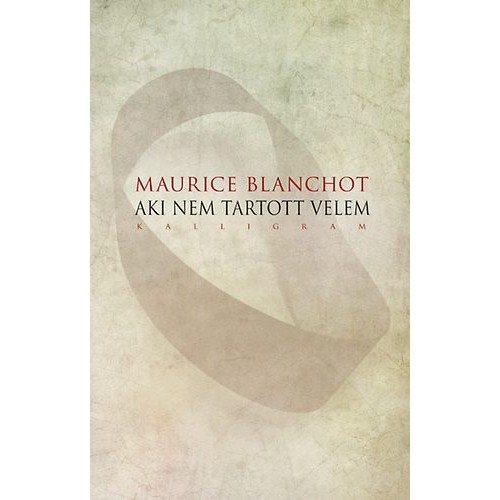 Maurice Blanchot 4 könyve egy csomagban