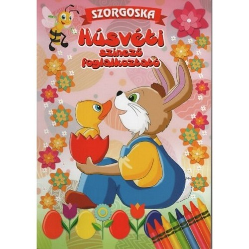 Húsvéti színező foglalkoztató - Szorgoska