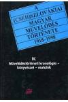 A (cseh)szlovákiai magyar művelődés története IV.