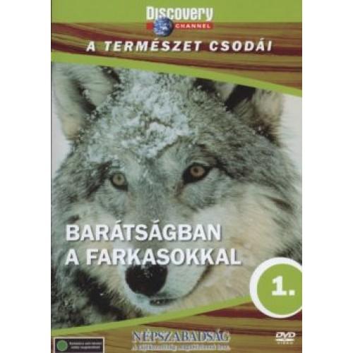 A természet csodái 01.: Barátságban a farkasokkal (DVD)