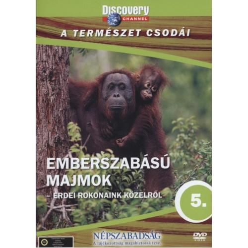 A természet csodái 05.: Emberszabású majmok - Erdei rokonaink közelről (DVD)