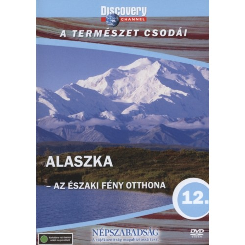 A természet csodái 12.: Alaszka - Az északi fény otthona (DVD)