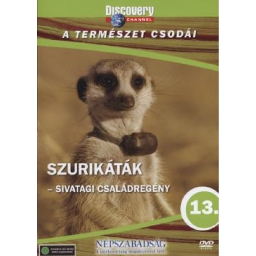 A természet csodái 13.: Szurikáták (DVD)