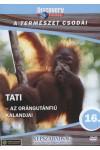 A természet csodái 16.: Tati - Az orángutánfiú kalandjai (DVD)