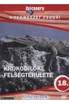 A természet csodái 18.: Krokodilok felségterülete (DVD)