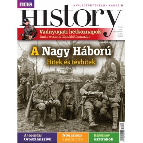 BBC History IV. évfolyam, 9. szám (2014. szeptember)
