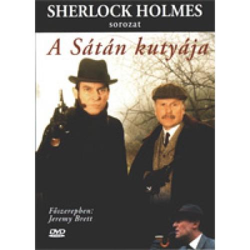 Sherlock Holmes sorozat: A sátán kutyája (1988) (DVD)