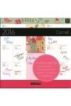 Cornell mágneses naptár 2016 22X22, Lizzy Card kiadó, 100 Ft-os Könyvudvar