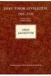 Déry Tibor levelezése 1901-1926, Balassi kiadó, Életrajz