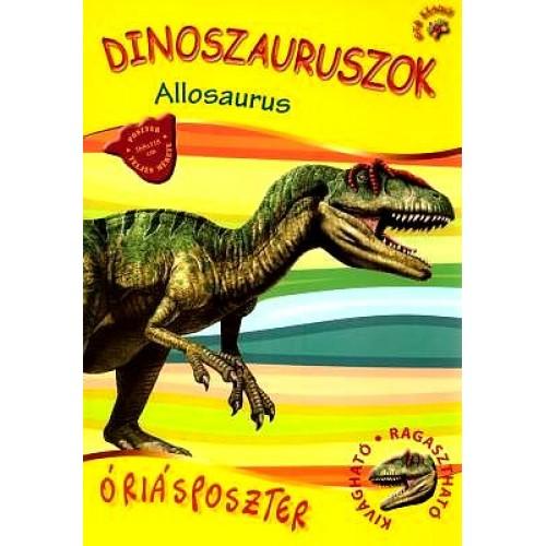 Dinoszauruszok óriásposzter - Allosaurus