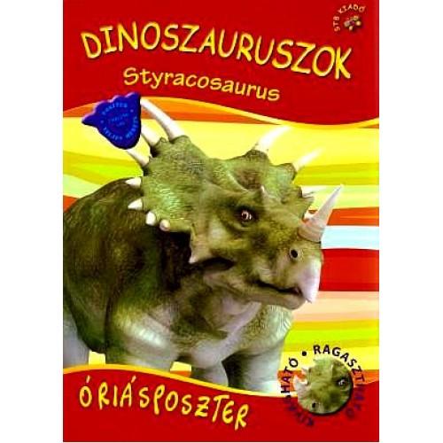 Dinoszauruszok óriásposzter - Styracosaurus