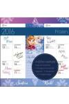 Frozen 2016 mágneses naptár 22X22