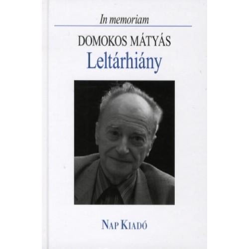 Leltárhiány - Domokos Mátyás