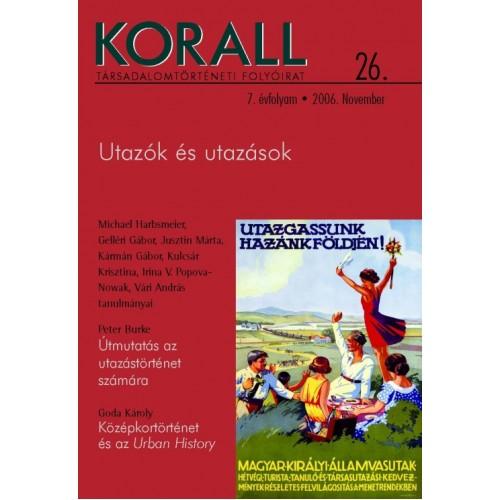 Korall Társadalomtörténeti Folyóirat 2006/26
