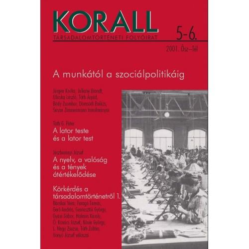 Korall Társadalomtörténeti Folyóirat 2001/5-6.
