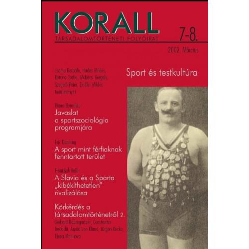 Korall Társadalomtörténeti Folyóirat 2002/7-8.