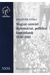 Magyar-szovjet diplomáciai, politikai kapcsolatok, 1920-1941