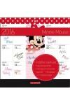 Minnie Mouse 2016 mágneses naptár 22X22, Lizzy Card kiadó, Naptárak