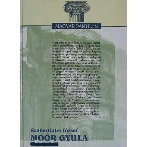 Moór Gyula (Magyar Panteon)