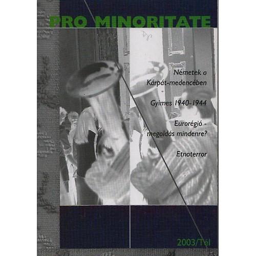 Pro Minoritate 2003/Tél