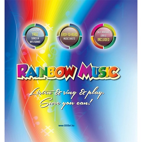 Rainbow music - Listen & sing & play - Sure you can!