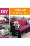 Raklap bútorok (DIY)