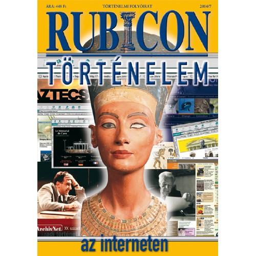 Rubicon 2004/7 Történelem az interneten