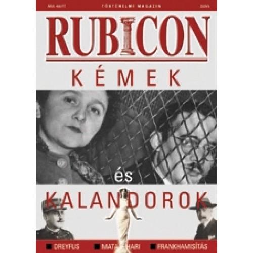 Rubicon 2005/9 Kémek és kalandorok
