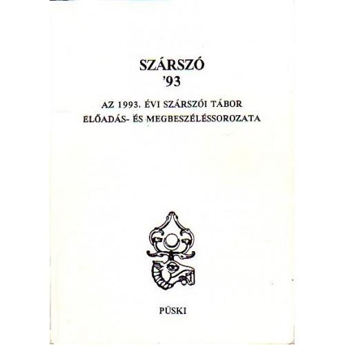 Szárszó '93, Püski kiadó, Politika, politológia