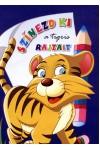 Színezd ki a tigris rajzait