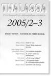 Thalassa 2005/2-3 József Attila – Hatások és párhuzamok