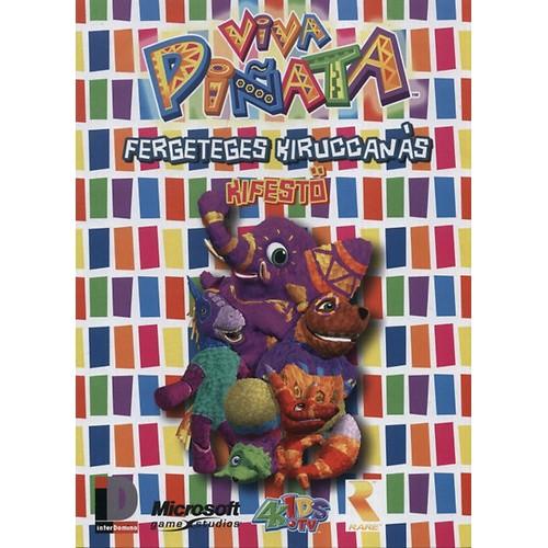 Viva piñata - Fergeteges kiruccanás (kifestő)