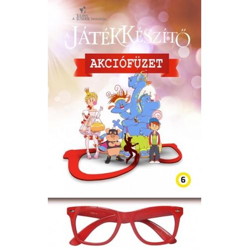 A Játékkészítő foglalkoztató - Piros szemüveggel