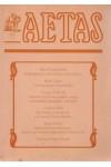 Aetas Történettudományi folyóirat 2000/3