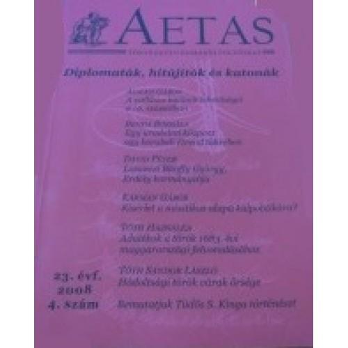 Aetas Történettudományi folyóirat 2008/4