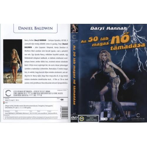 Az 50 láb magas nő támadása (DVD)