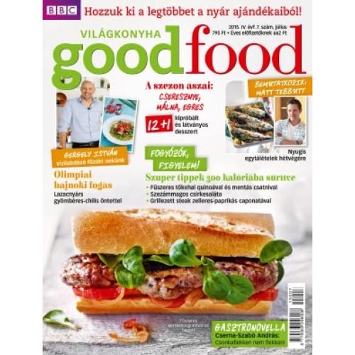 BBC GoodFood Világkonyha Magazin IV. évfolyam, 7. szám (2015. július)