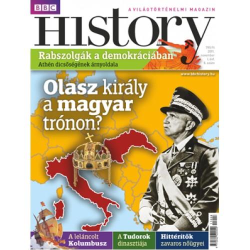 BBC History 2011/08 - I. évfolyam, 8. szám (2011. november)