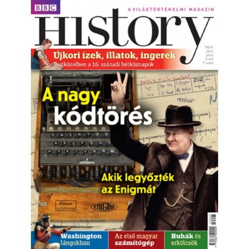 BBC History II. évfolyam, 7. szám (2012. július)