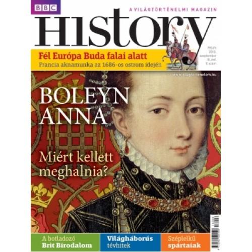 BBC History III. évfolyam, 9. szám (2013. szeptember)
