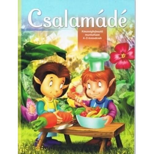 Csalamádé – Készségfejlesztő munkafüzet 4-5 éveseknek