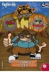 Fejtörők 2. - Fedőnév: C.S.O.K.I. - Cartoon Network foglalkoztató füzet