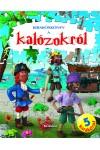 Kirakóskönyv a kalózokról, Napraforgó kiadó, Gyermek- és ifjúsági könyvek