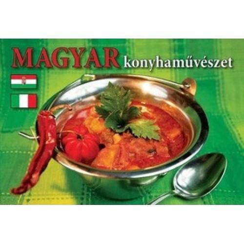 Magyar konyhaművészet (DVD-melléklettel, díszdobozos csomagolásban) magyar-olasz
