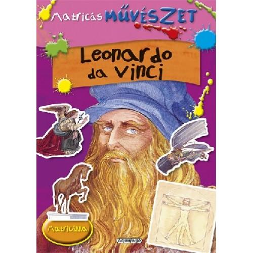 Matricás művészet - Leonardo da Vinci, Napraforgó kiadó, Gyermek- és ifjúsági könyvek