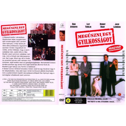Megúszni egy gyilkosságot (DVD)