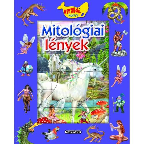 Mitológiai lények – Ablakos kirakóskönyv (lapozó)
