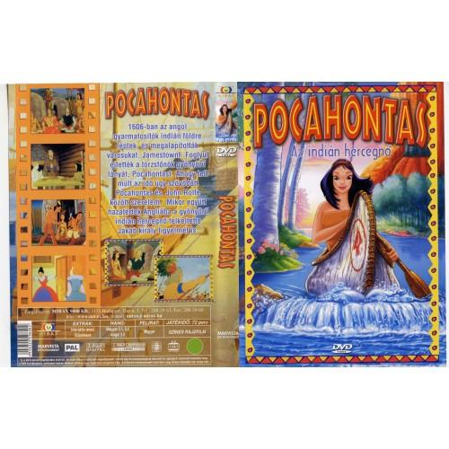 Pocahontas, az indián hercegnő (DVD)