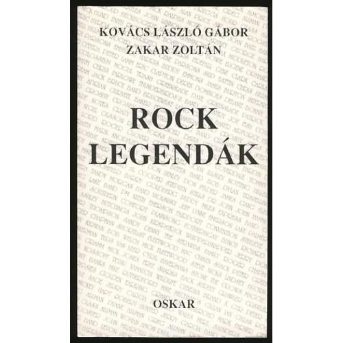 Rocklegendák, Oskar kiadó, Lexikonok, enciklopédiák